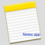 Mac純正のメモアプリのフォントサイズ変更方法