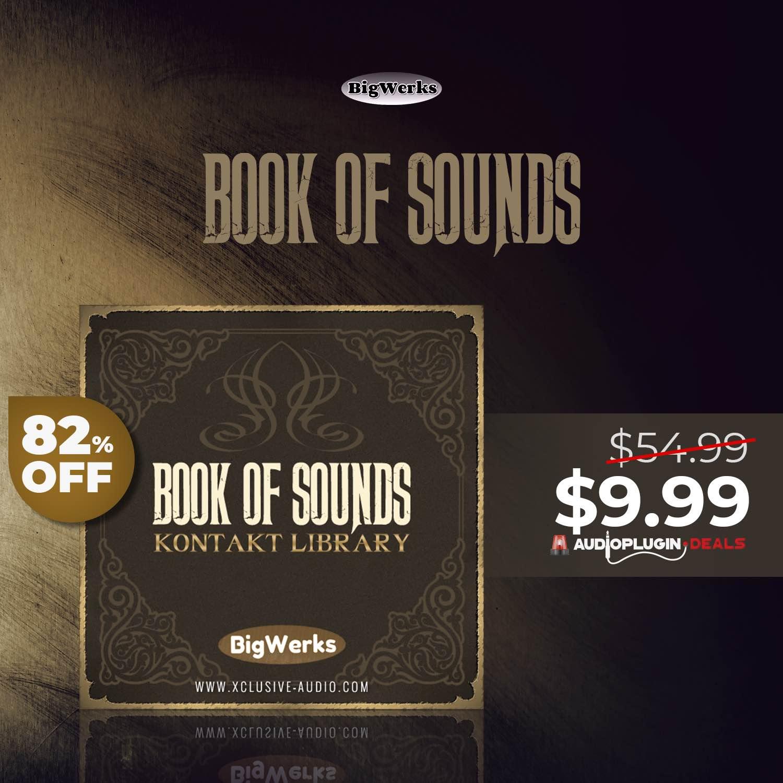 【55ドル→10ドル】BigWerks『Book of Sounds II』アーバン&シネマティック・サウンドの大容量Kontaktライブラリ(Hip-Hop、R&B、TRAPにも最適)