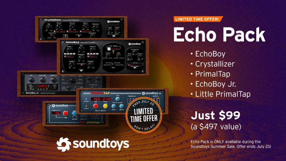 Soundtoys EchoBoy Jr. delay