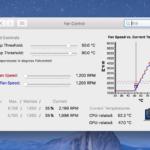 Macのファンコントロールソフトの決定版 Derman社のフリーウェア「Fan Control」